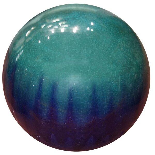 Fade Ceramic Gazing Globe by Benzara