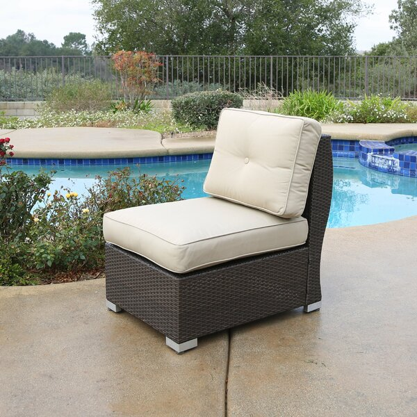 Leib Center Patio Chair with Cushion by Latitude Run
