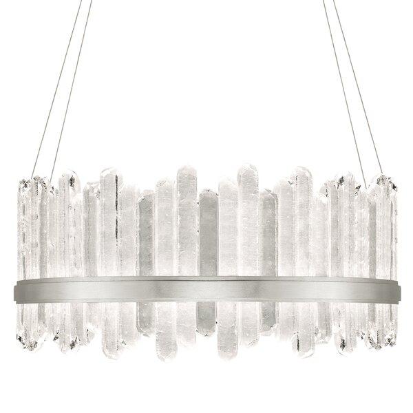 Lior 48 - Light Unique / Statement Drum Chandelier by Fine Art Lamps Fine Art Lamps