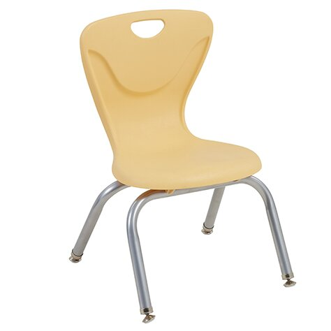 Contour Plastic Classroom Chair (Set of 4) by ECR4kids