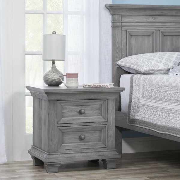 Tadcaster 2 Drawer Nightstand by Harriet Bee