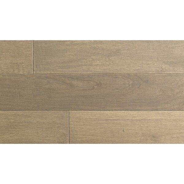 Langania 7-1/2 Engineered Hickory Hardwood Flooring in Tan by IndusParquet