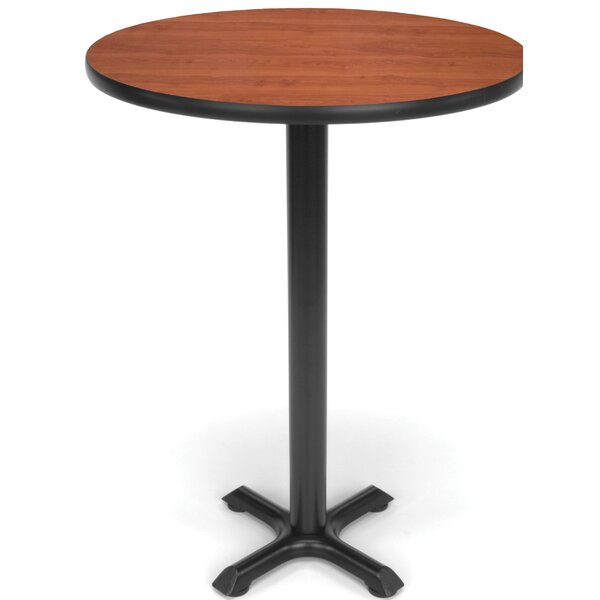 "30"" Round X Style Base Café Table by OFM"