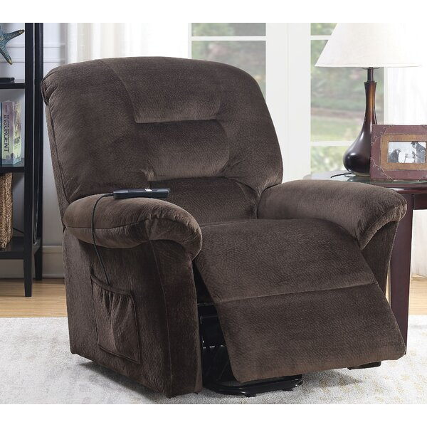 Melancon Power Recliner Red Barrel Studio W001184522