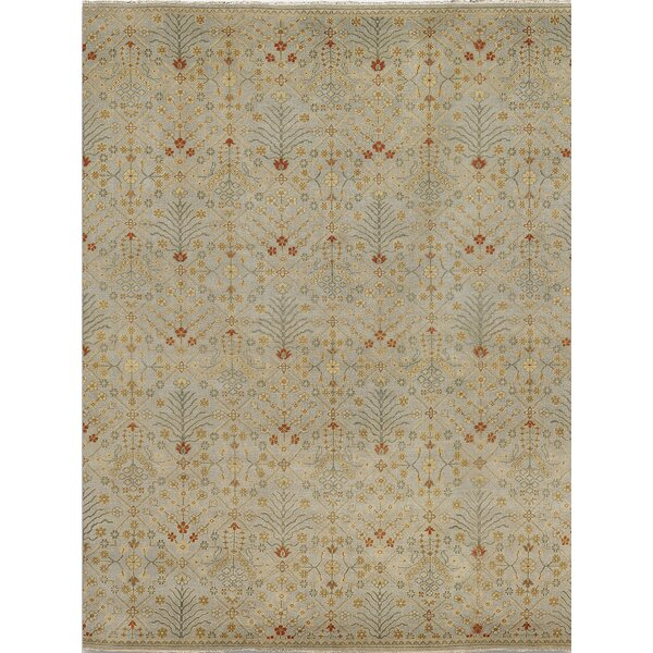 Earnshaw Ice Blue Area Rug by Fleur De Lis Living