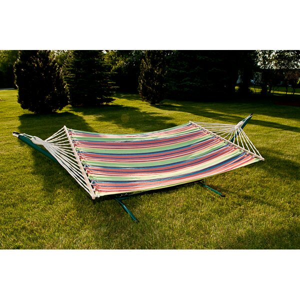 Sterling Outdoor Cotton Tree Hammock by Sunnywood