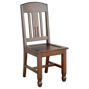 Phillip Solid Wood Dining Chair (Set of 2) Casual Elements