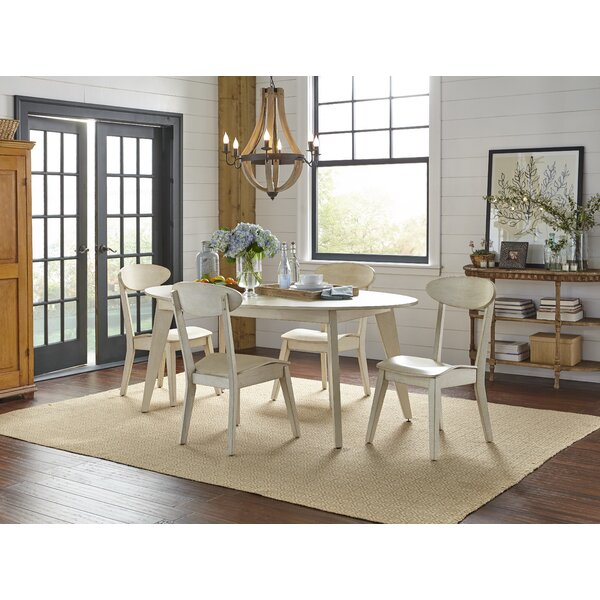 Mercy 5 Piece Dining Set by Gracie Oaks