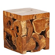 Teak Root Cube by Ibolili