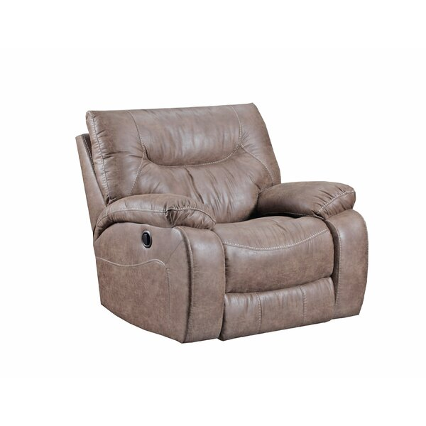 Grizzly Hill Manual Recliner by Simmons Upholstery by Loon Peak