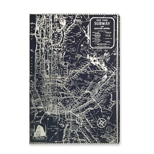 Silver NYC Lines Silver Foil Graphic Art on Canvas by Mercury Row