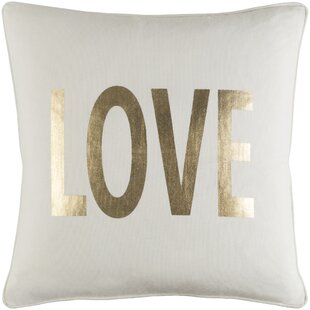Metallic Gold Throw Pillows Wayfair