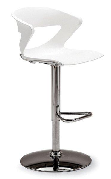 Height Adjustable Kreature Pedestal Base Stool by Gordon International