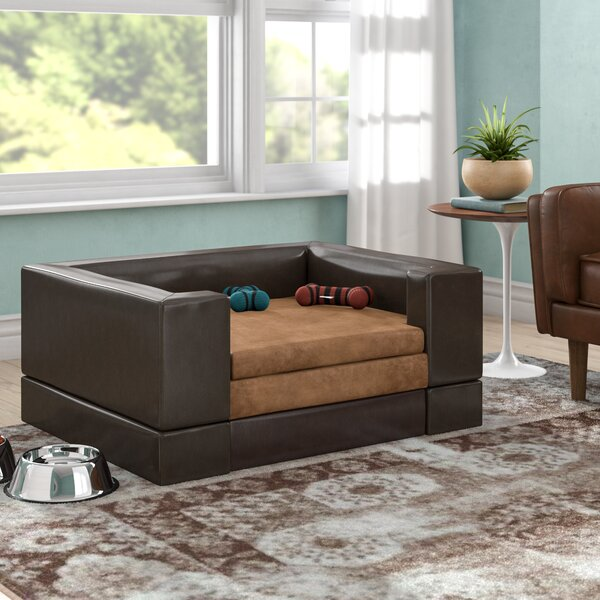Deon Large Rectangle Cushy Pet Sofa by Archie & Oscar