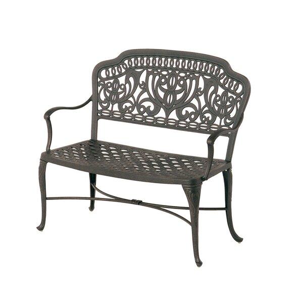 Merlyn Aluminum Garden Bench by Fleur De Lis Living