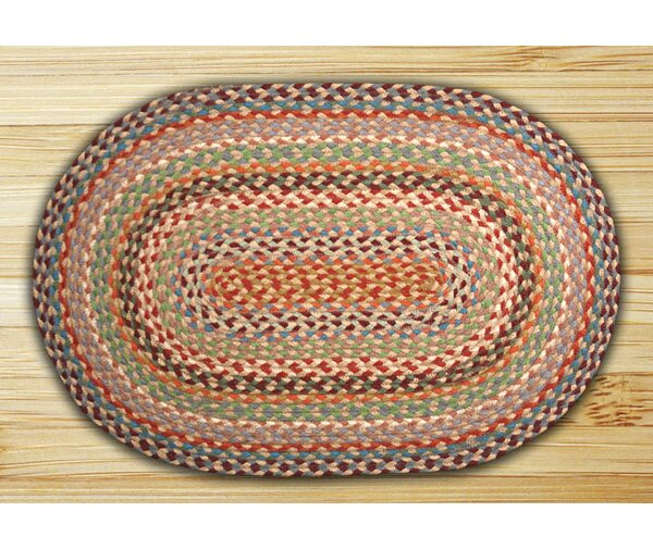 Multi 1 Braided Area Rug by Earth Rugs
