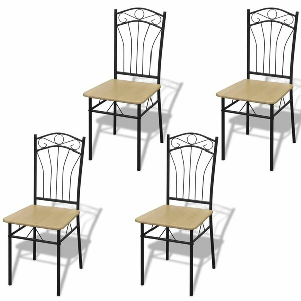 Dighton Dining Chair (Set of 4) by Fleur De Lis Living