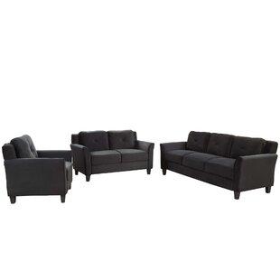 Bettyjean 3 Piece Living Room Set by Red Barrel Studio®