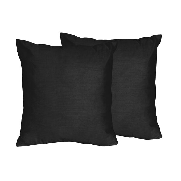 Chevron Solid Throw Pillows (Set of 2) by Sweet Jojo Designs