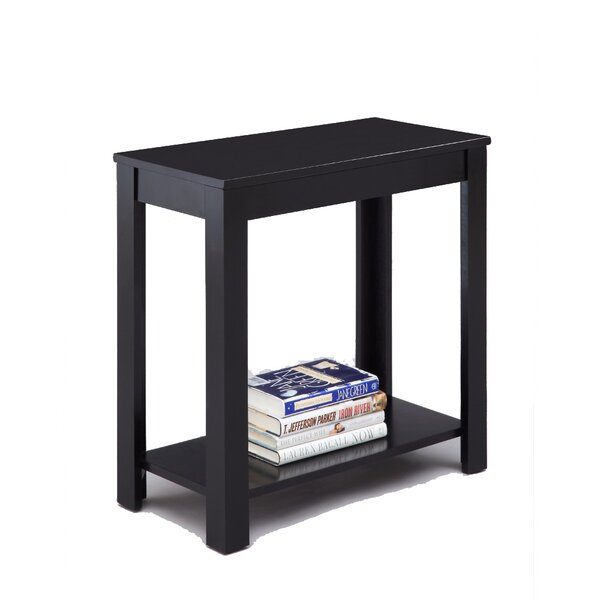 Latshaw End Table With Storage By Winston Porter