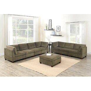 Anglu 3 Piece Living Room Set by Latitude Run®