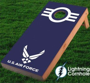 Air Force Cornhole Board by Lightning Cornhole