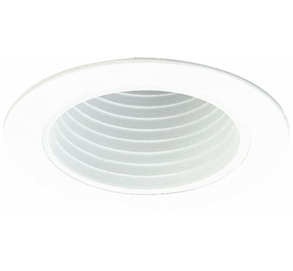 Deep Phenolic Baffle 4 Recessed Trim by Elco Lighting