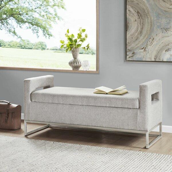 Mannion-King Upholstered Storage Bench by Orren Ellis