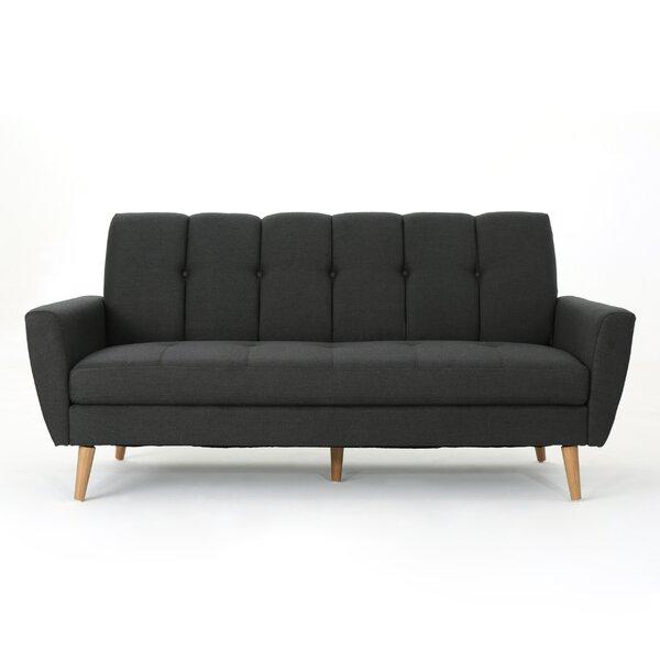Sunnydale Mid Century Sofa by Wrought Studio