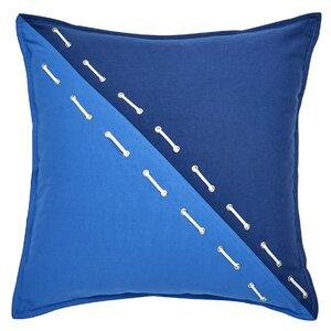 Yacht Club Grommet 100% Cotton Throw Pillow