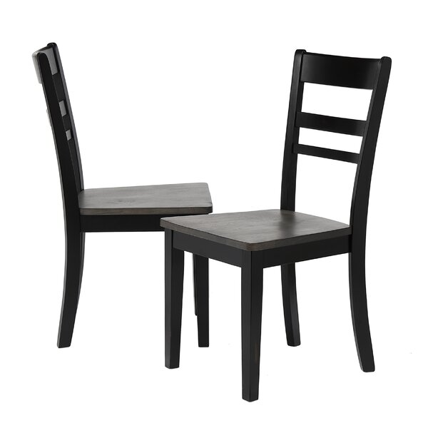 Edmiston Solid Wood Dining Chair (Set of 2) by Gracie Oaks