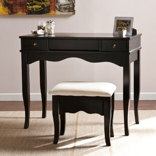 Vanity Table And Bench | Wayfair