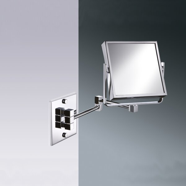 Wall Mounted Square Double Face Magnifying Mirror by Windisch by Nameeks