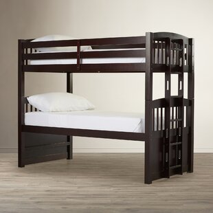 Affordable Grier Hammond Twin over Twin Bunk Bed with Ladder By Viv + Rae