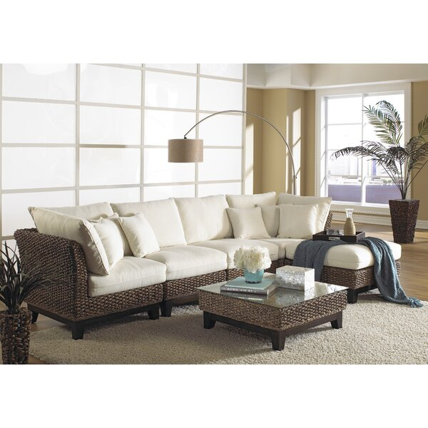 Sanibel Sectional with Ottoman by Panama Jack Sunroom