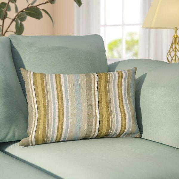 Rafferty Cotton Lumbar Pillow by Andover Mills