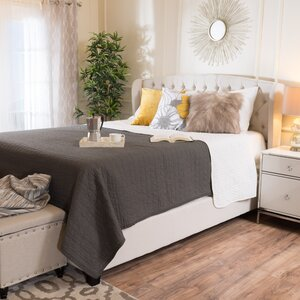Hughes Queen Upholstered Platform Bed