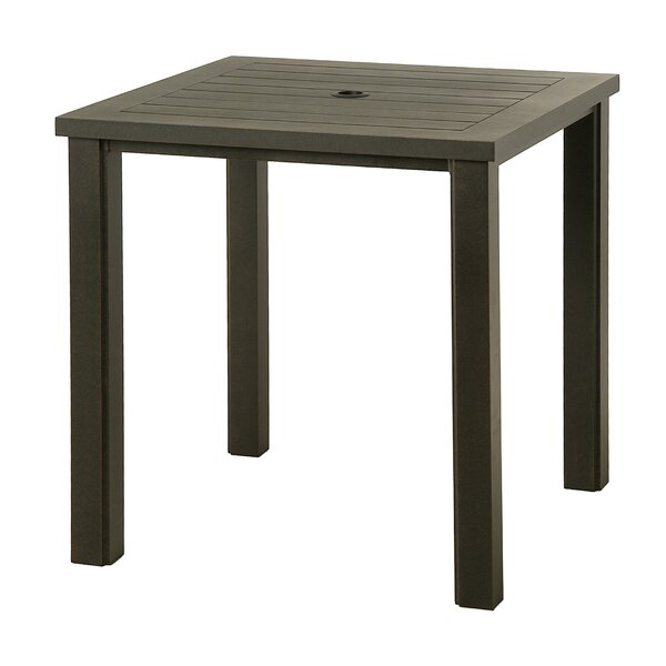 Sebrina Metal Bar Table by Latitude Run