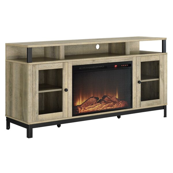 Mastrangelo 60 TV Stand with Fireplace by Gracie Oaks