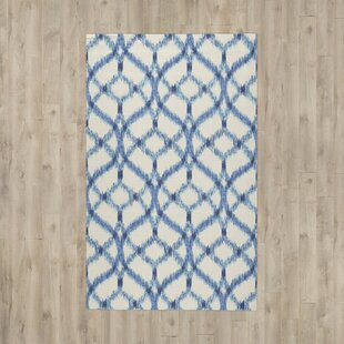 Shop for Stewart Indoor/Outdoor Blue/Ivory Area Rug By Waverly