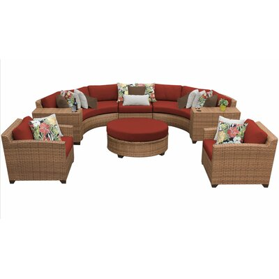 Sol 72 Outdoor Sectional Seating Group Cushions Cushion Color Seating Groups