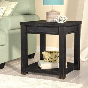Calvin End Table by Beachcrest Home