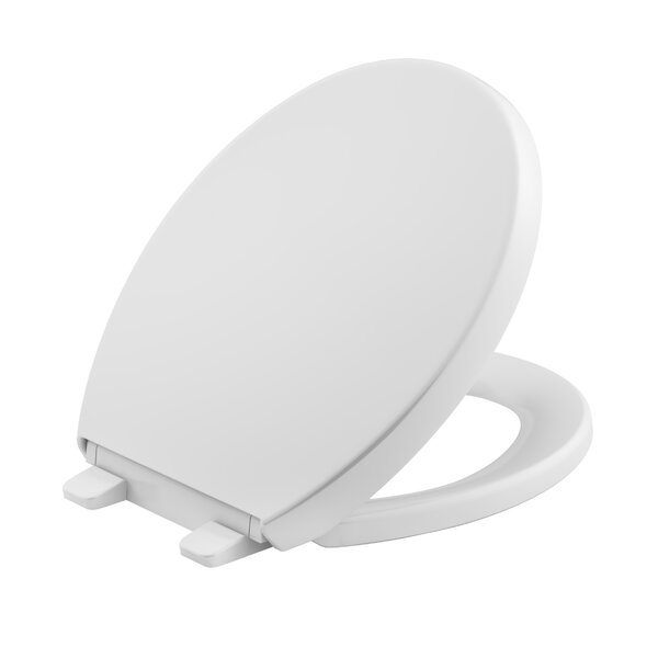 Reveal Quiet-Close with Grip-Tight Round-Front Toilet Seat by Kohler