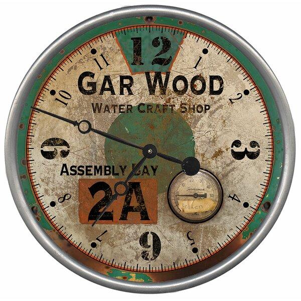 Cuyler Garwood Wall Clock by Breakwater Bay
