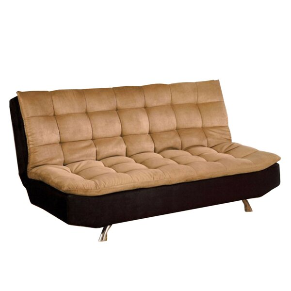 Heggins Microfiber Convertible Sofa by Latitude Run