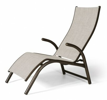 Maxx Countour Reclining Chaise Lounge by Telescope Casual