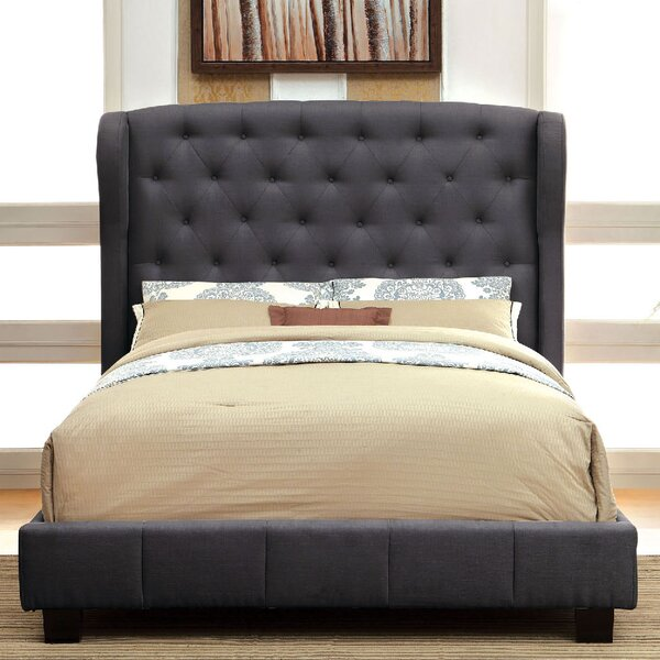 Upholstered Standard Bed by A&J Homes Studio