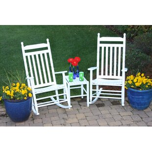 Janelle Asheville Rocking Chairs (Set of 2) August Grove