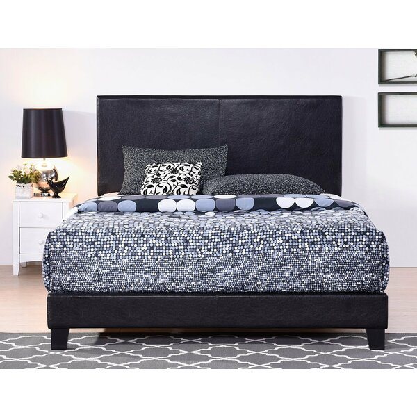 Shauntra Vienna Upholstered Sleigh Bed by Latitude Run
