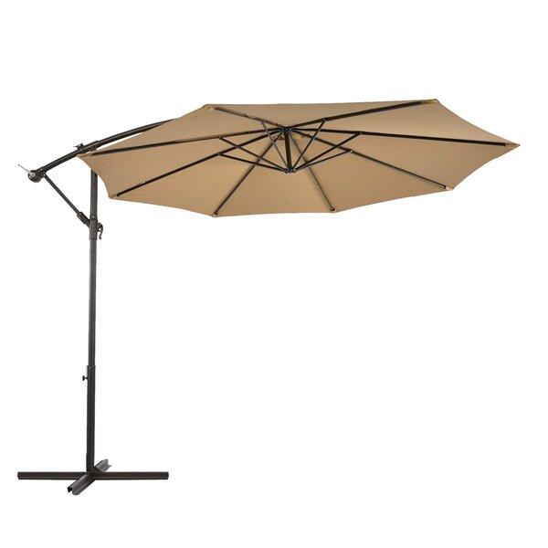 Fahriye Lch 10' Patio Offset Cantilever Umbrella by Latitude Run Latitude Run